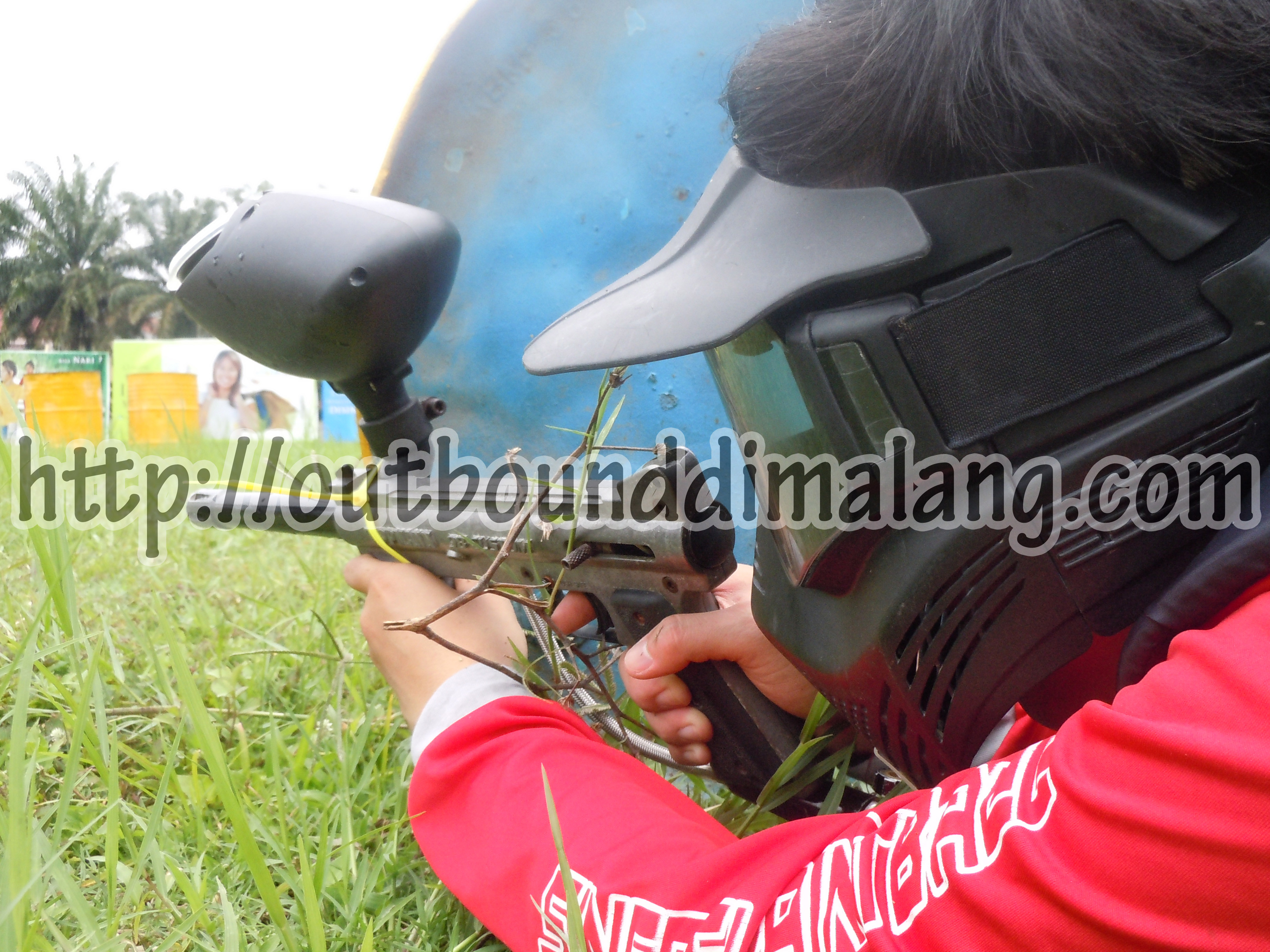 Outbound di Malang – Serunya Permainan Paintball di malang