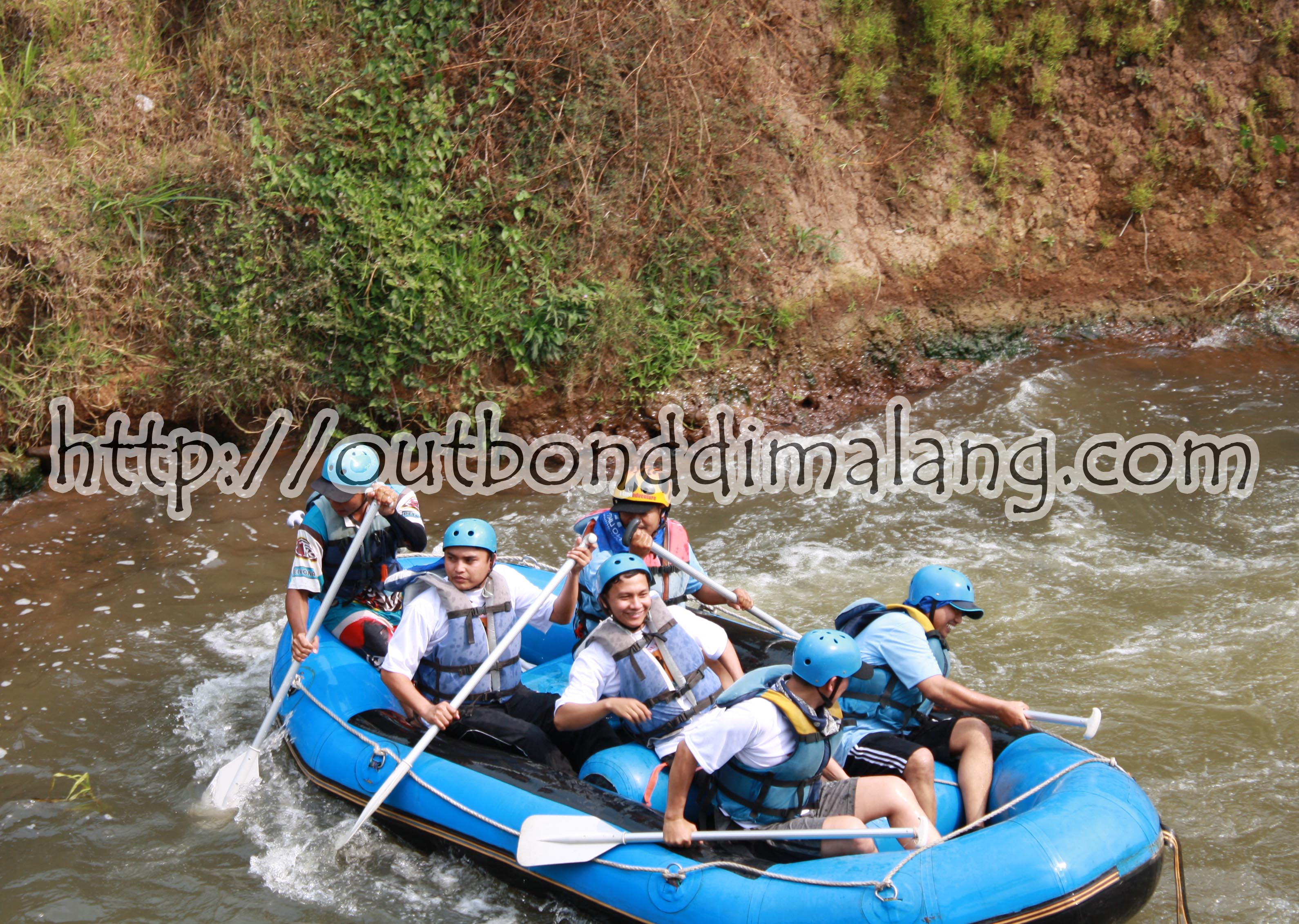 Outbound Malang - Rafting I'm Comming!!!