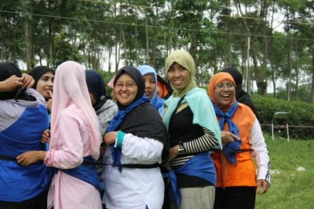 Outbound Malang -Training di Kebun Teh Wonosari Lawang