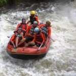 Rafting bersama Outbound di Malang Batu Adventure