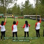training outbound di malang