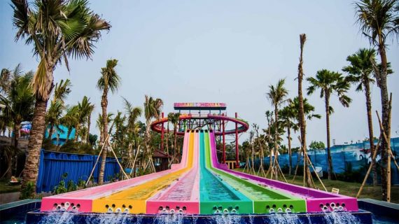 Hawai waterpark destinasi wisata menarik di Malang