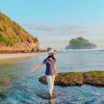 Pantai Goa Cina destinasi wisata alam yang begitu indah