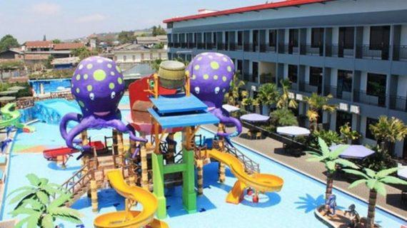Tempat rekreasi menarik Wonderland Waterpark Batu Malang