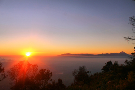 Wisata Spot Sunrise di Kota Malang
