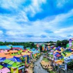 Obyek wisata kampung warna warni jodipan